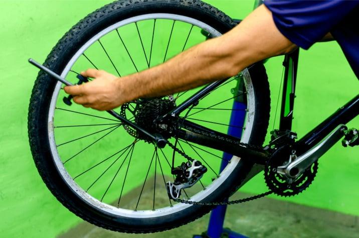 MTB Wheel Alignment