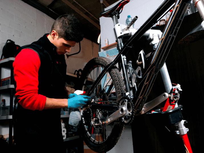 Mountain Bike Gear Repair