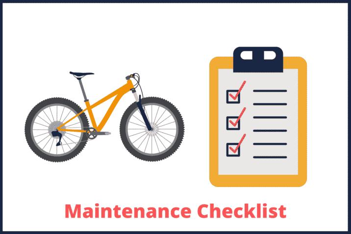 Mountain Bike Maintenance Checklist