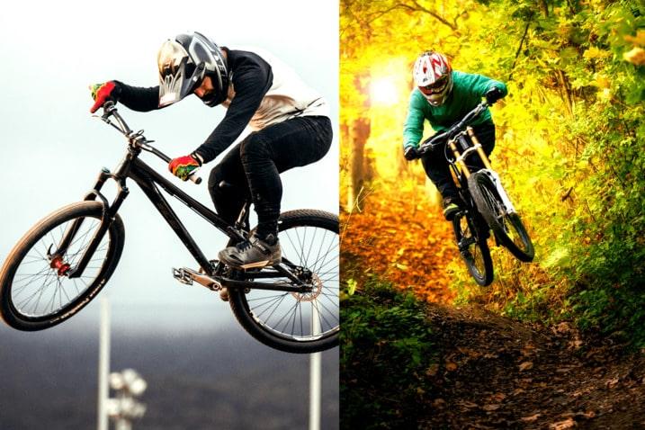 Dirt Jumper Bike & Mountain Bikes
