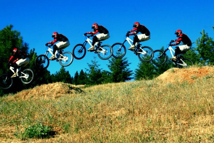 How To Jump Hardtail Mountain Bikes