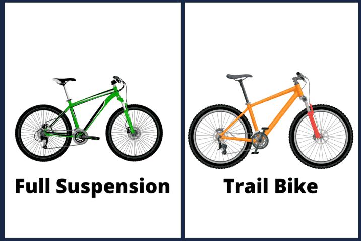 Full Suspension Vs Trail Bike