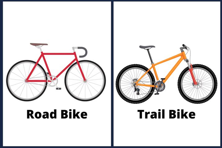 Road Bike Vs Trail Bike